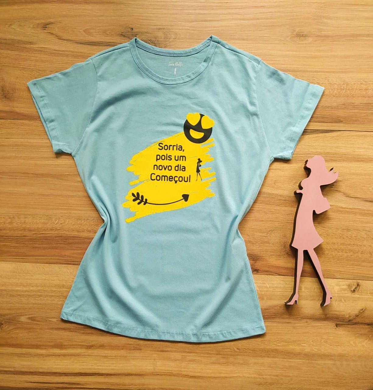 T-shirt Alegria Saia Bella SB79003 Cinza Claro