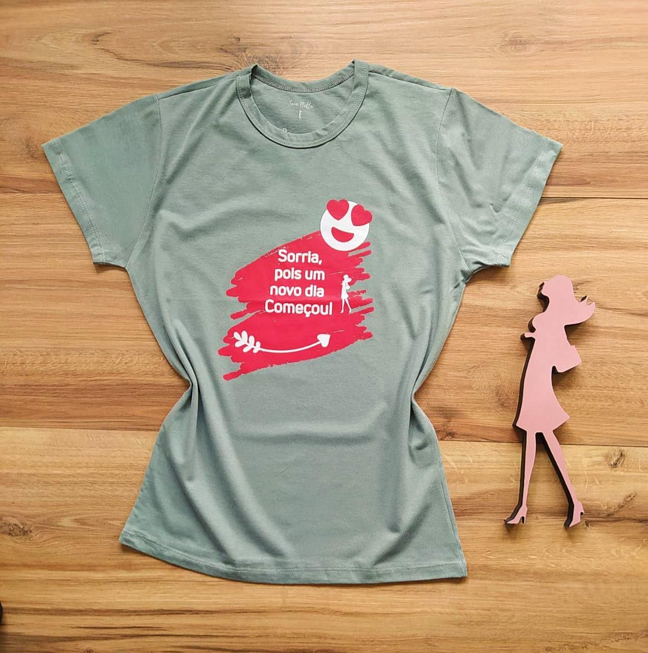 T-shirt Alegria Saia Bella SB79003 Cinza Escuro