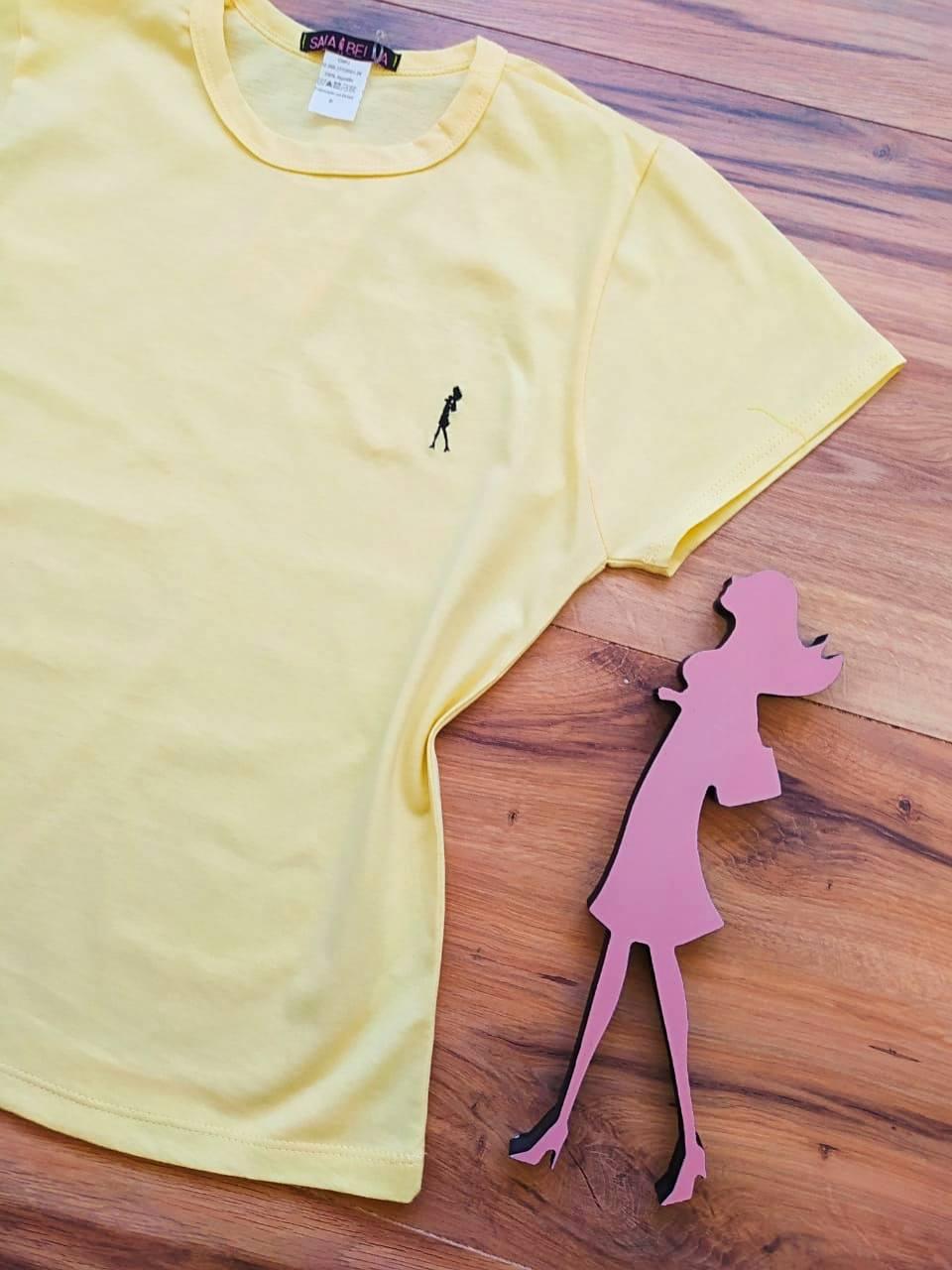 T-shirt Ana Maria Saia Bella Lisa SB90001 Amarelo