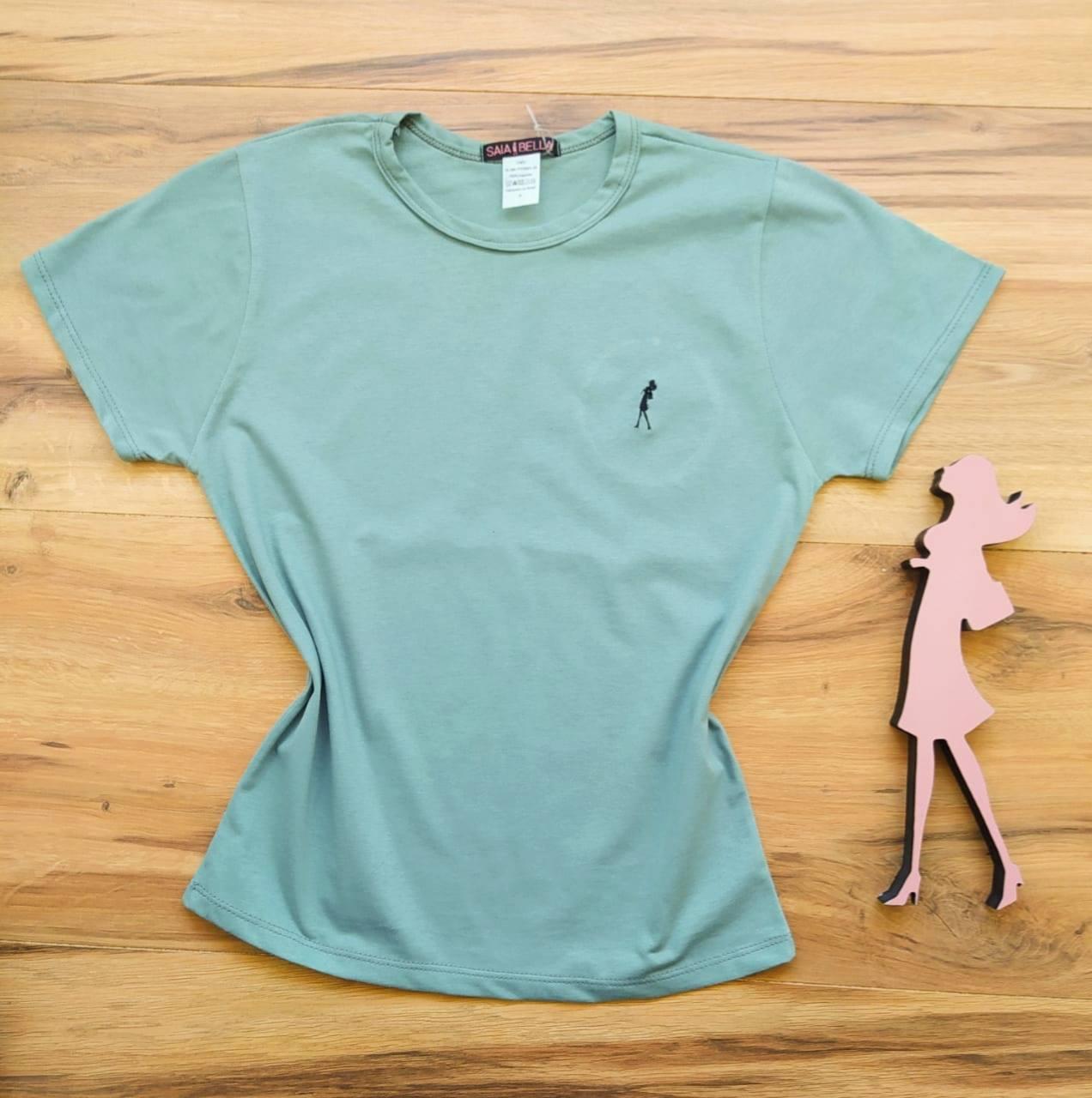 T-shirt Ana Maria Saia Bella Lisa SB90001 Cinza