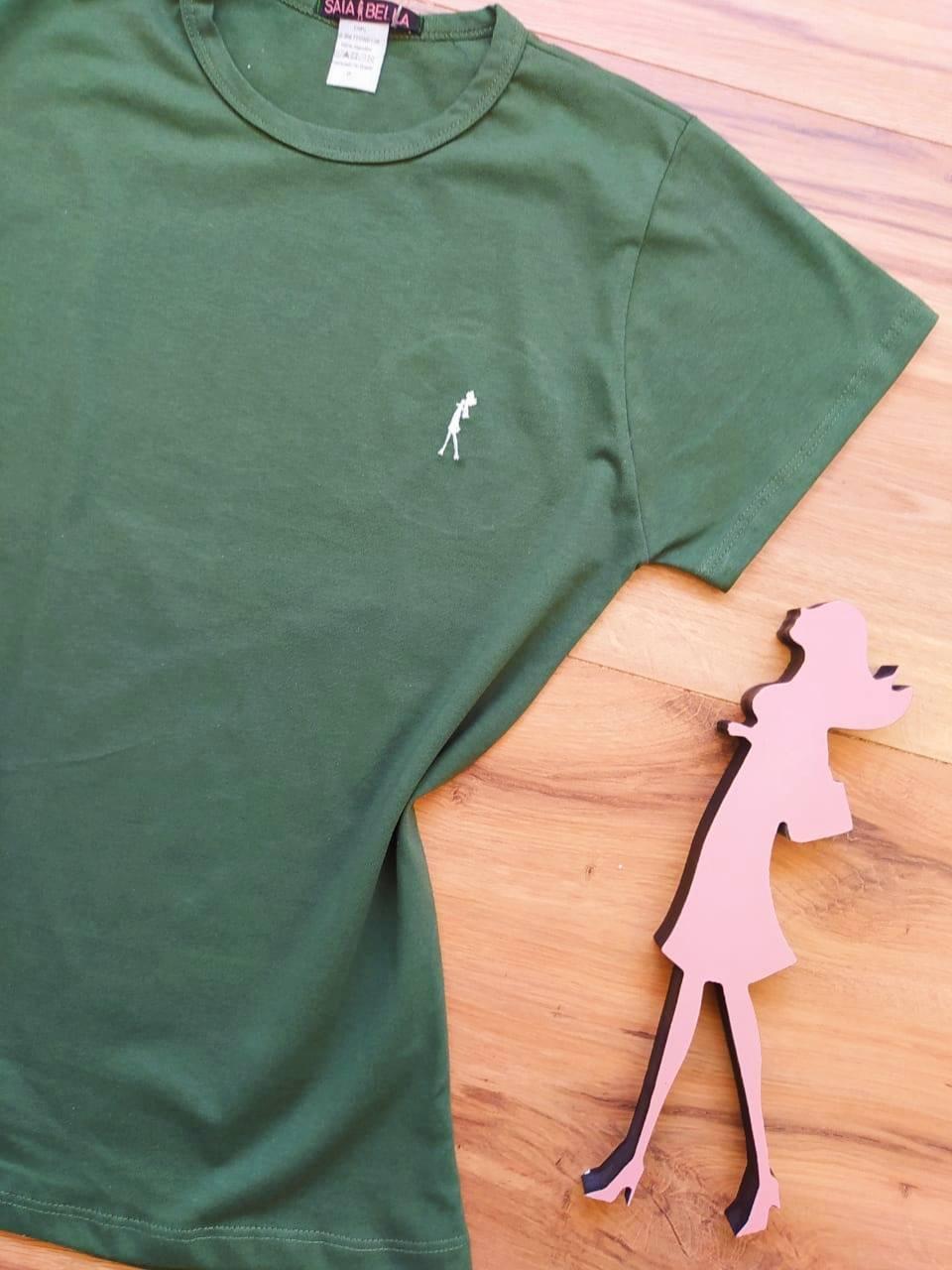 T-shirt Ana Maria Saia Bella Lisa SB90001 Verde