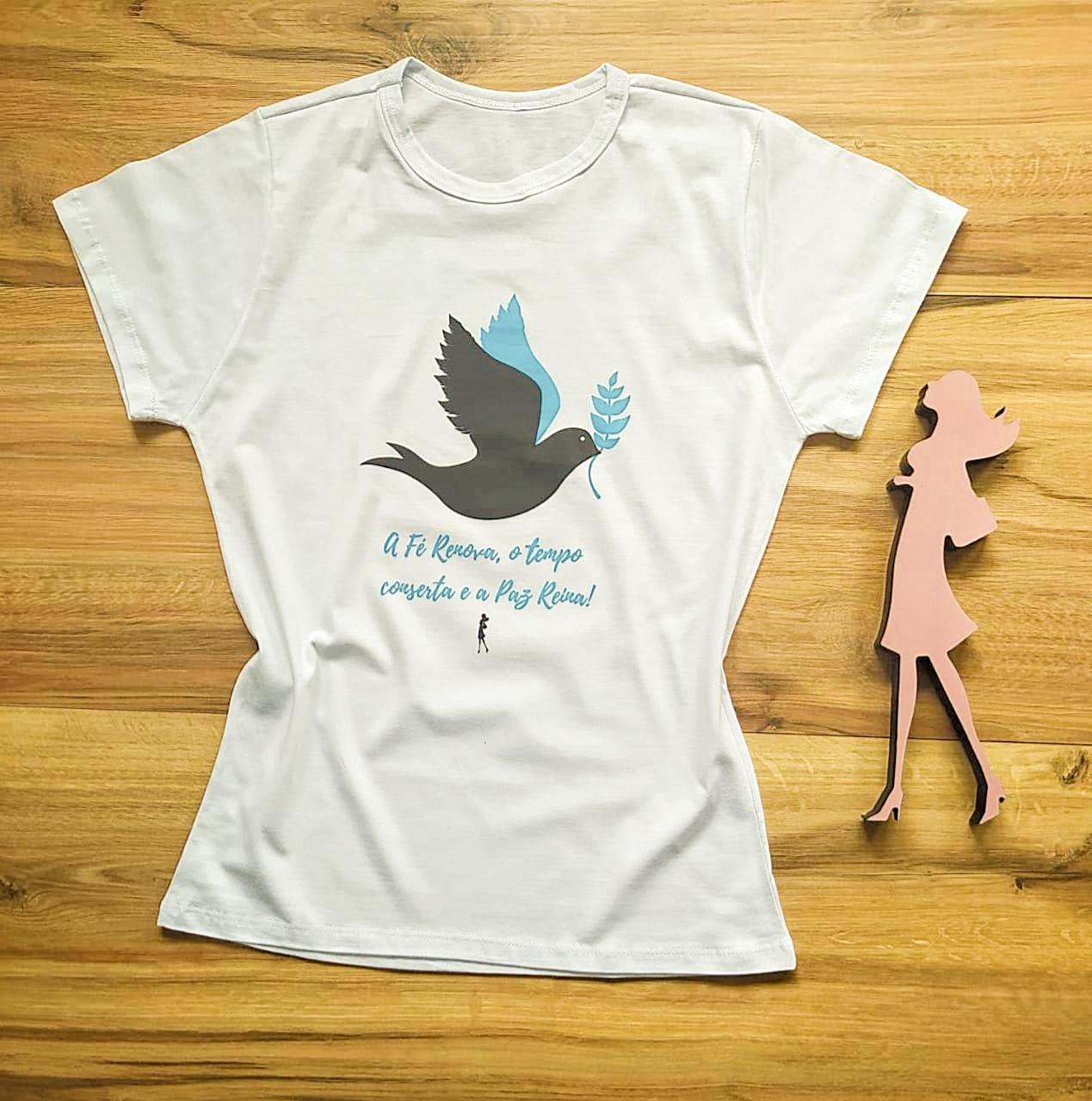 T-shirt Paz Saia Bella SB79004 Branco