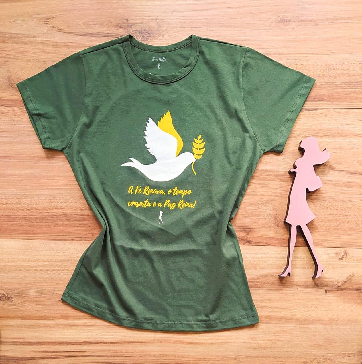 T-shirt Paz Saia Bella SB79004 Verde
