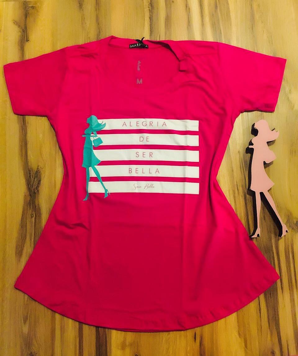 T-shirt Saia Bella Alegria SB903 Pink