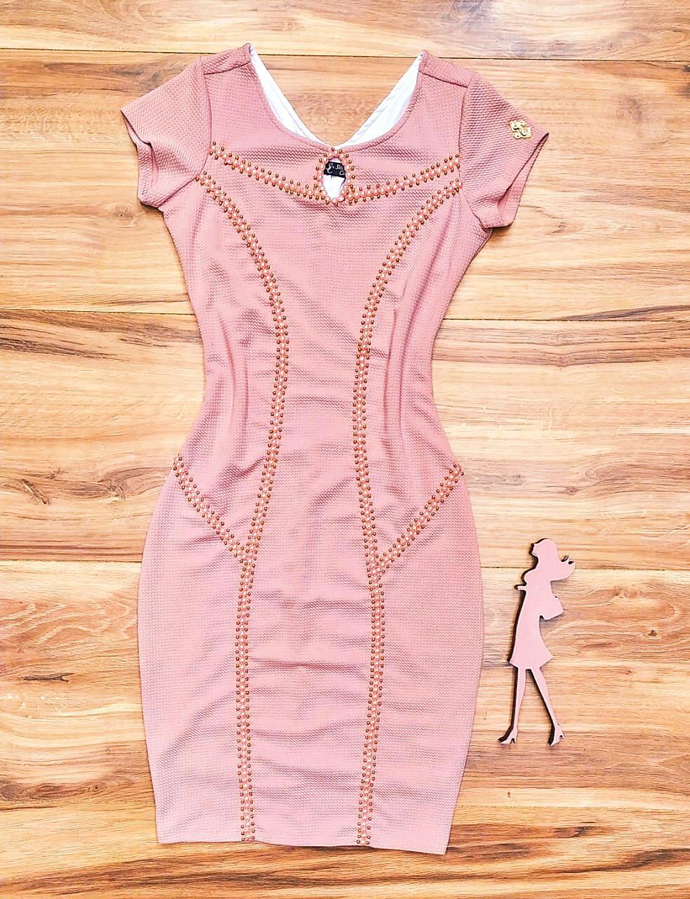 Vestido Agatha By Simmone Carvalho - SC1315 Rosa
