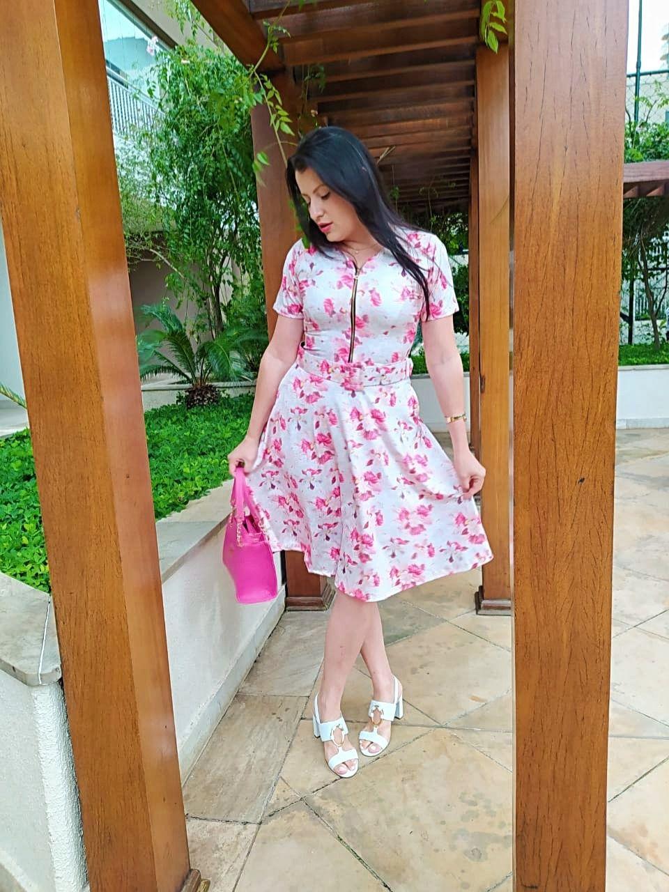 Vestido Alice Saia Bella SB77213E