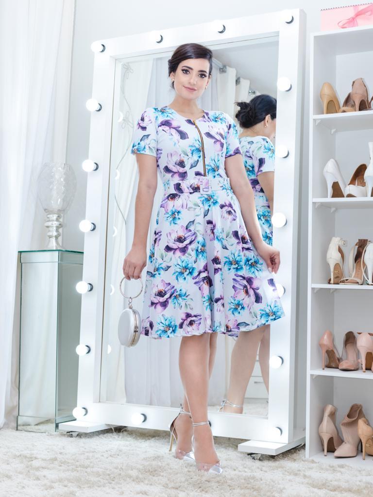 Vestido Alice Saia Bella SB77213F