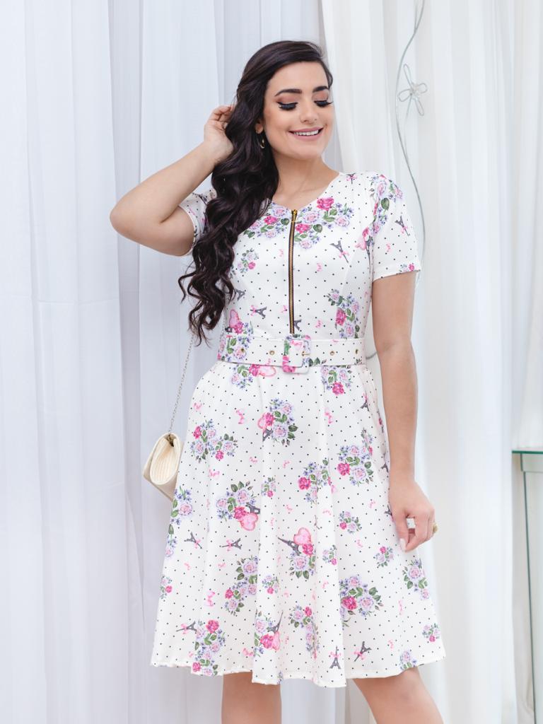 Vestido Alice Saia Bella SB77213I