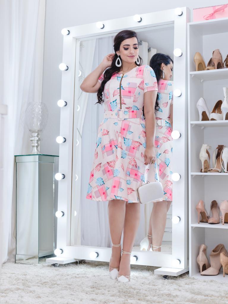 Vestido Alice Saia Bella SB77213J