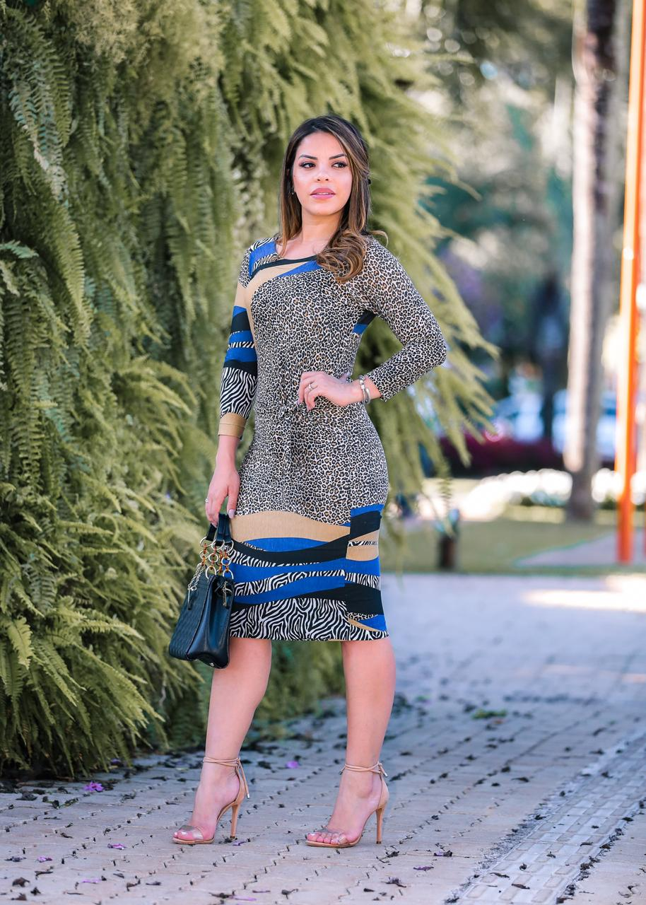 Vestido Ayla Azul SBL1804