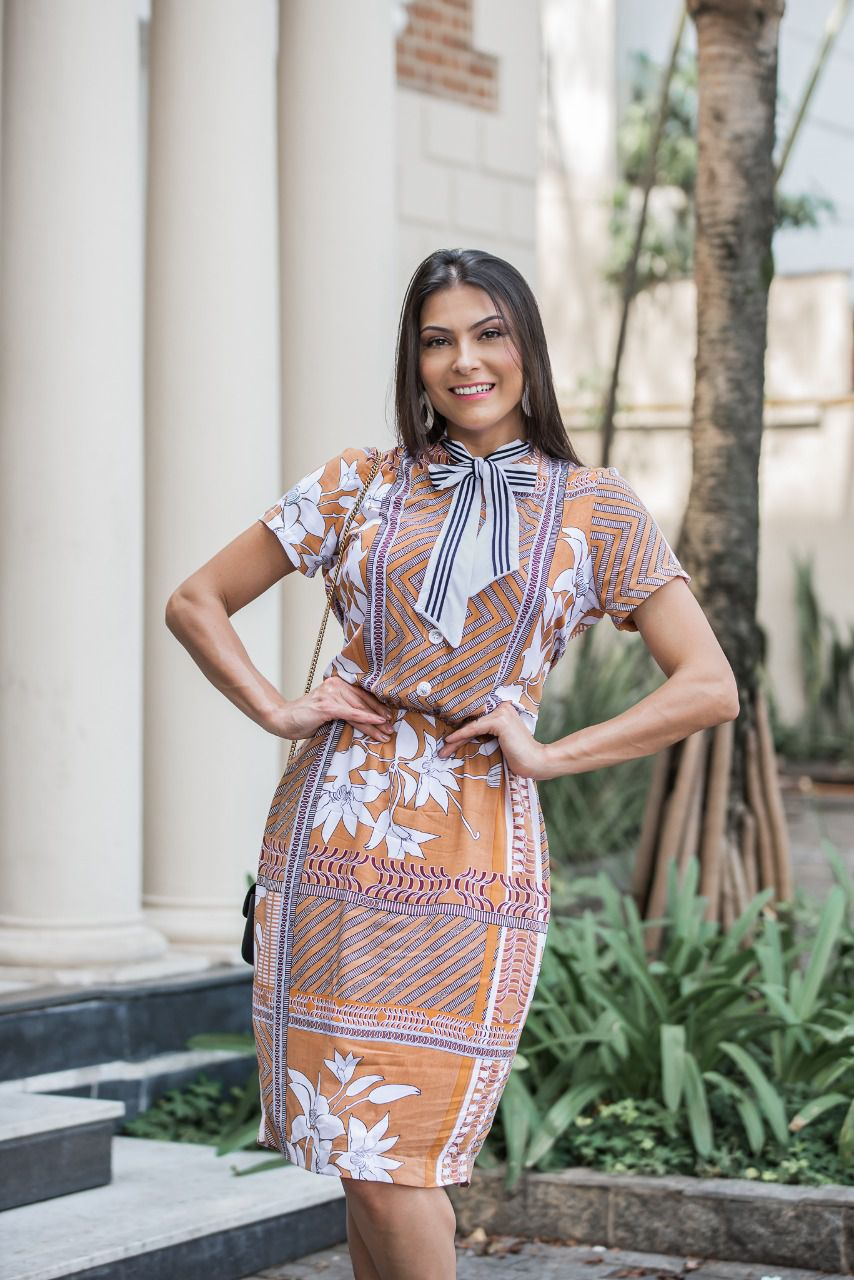 Vestido Beatriz Terra SBL1807A