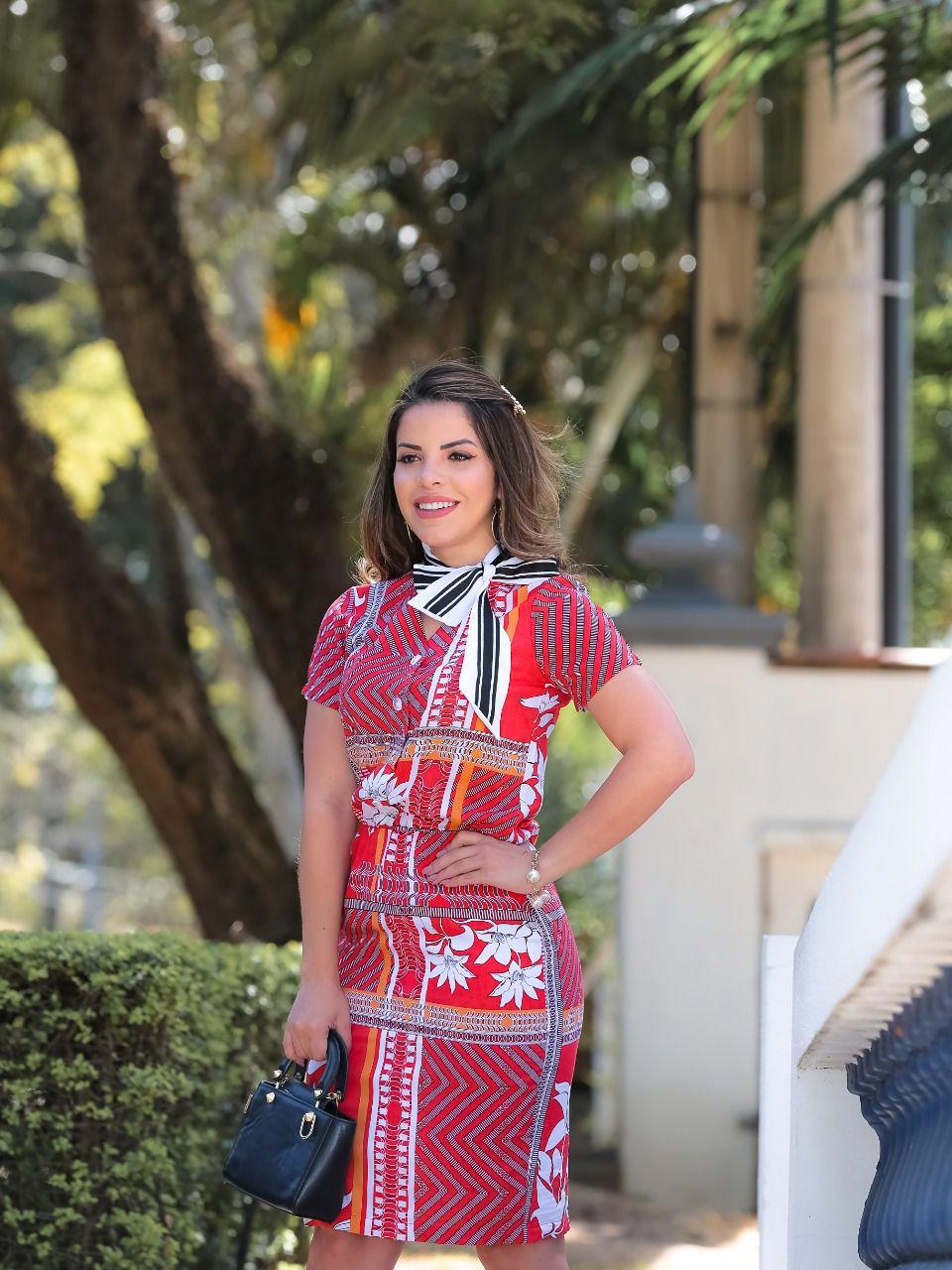 Vestido Beatriz Vermelho SBL1807