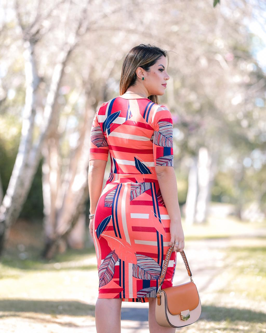 Vestido Berenice Vermelho SBL1803A