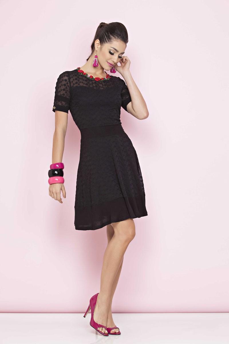 Vestido Brunet Luciana Pais - 1030LP