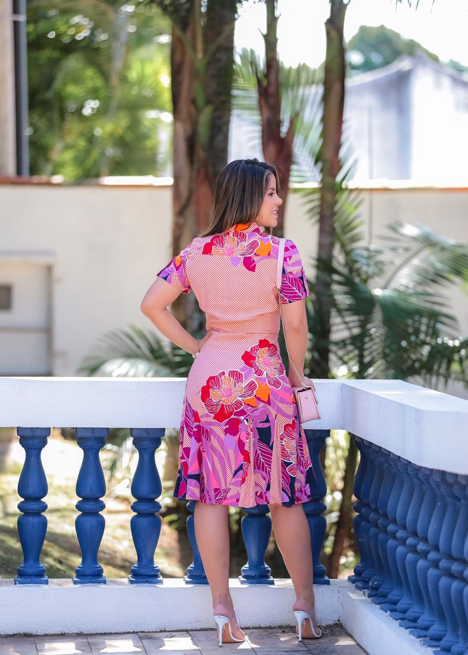 Vestido Dandara Rosa SBL1806
