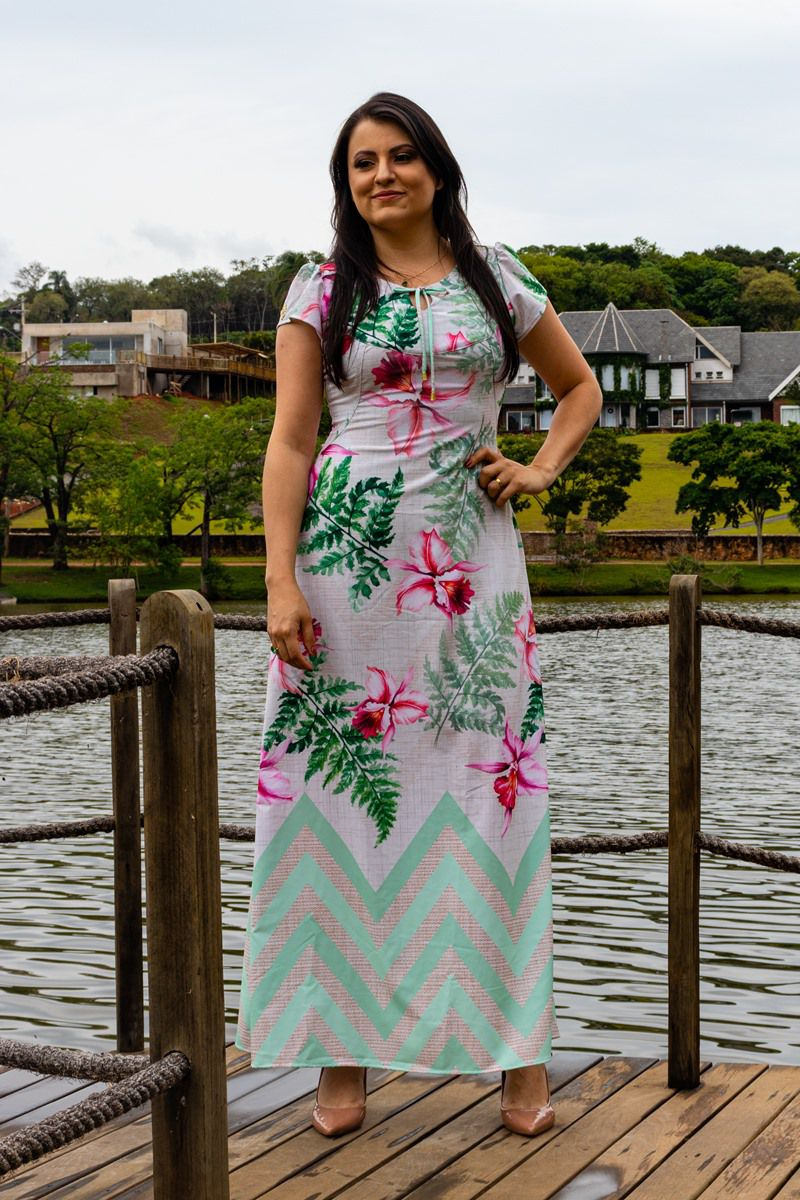 Vestido Diana By Simmone Carvalho - SC730