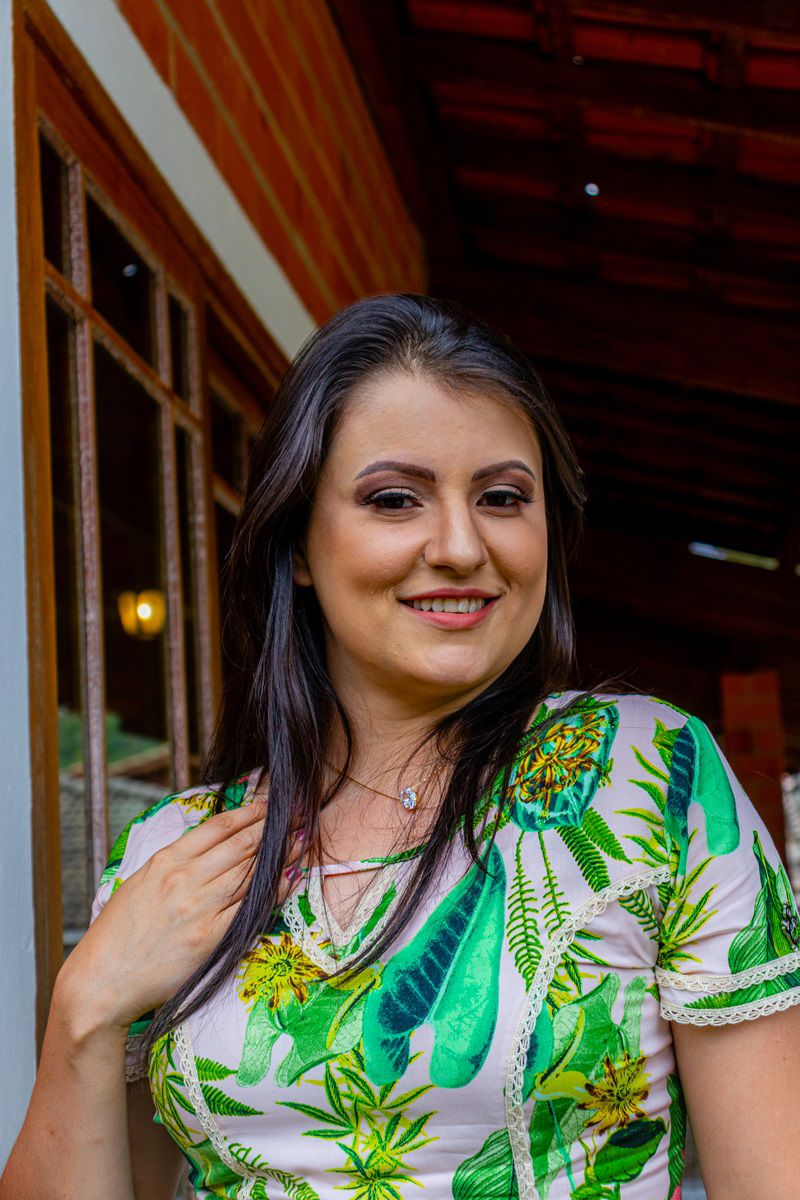 Vestido Evasê By Simmone Carvalho - SC741