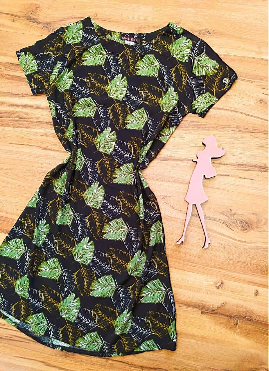 Vestido Evasê Mila Saia Bella SB60002 - 6