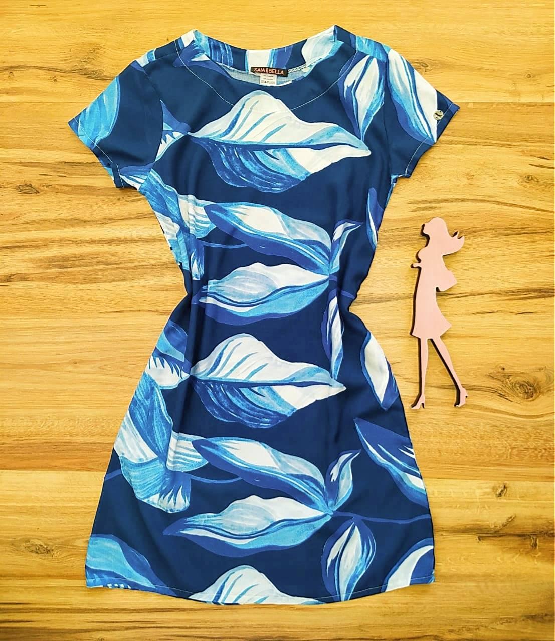 Vestido Evasê Mila Saia Bella SB60002 - 7