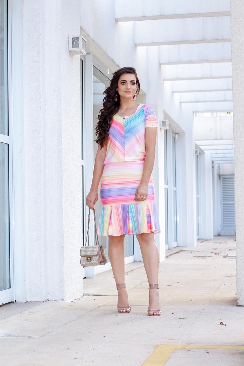 Vestido Felipa Multicolor SBL1817