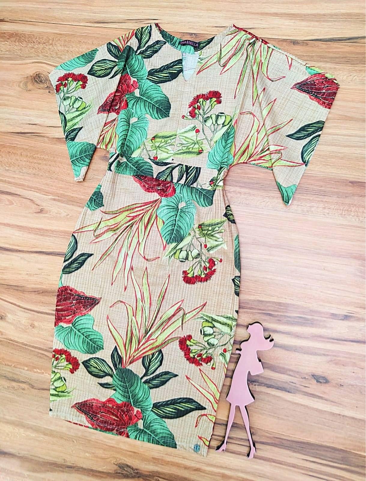 Vestido Florix Saia Bella - SB71008992_Verde