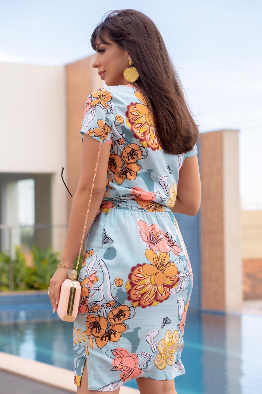 Vestido Francis Azul SBL1805