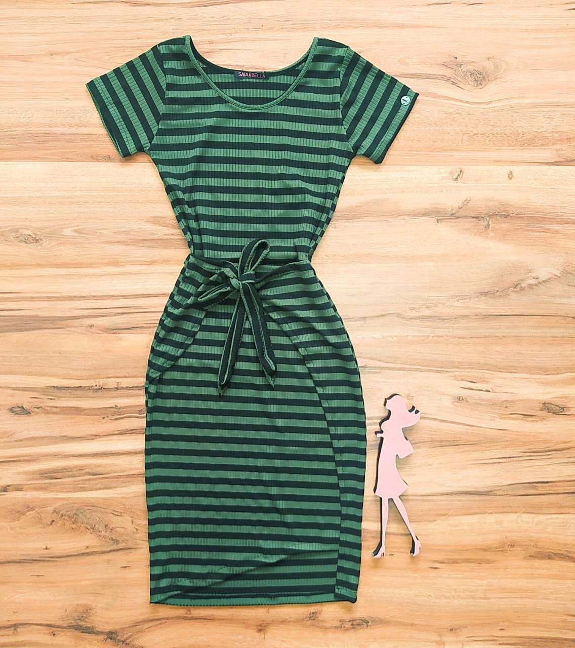 Vestido Isadora Saia Bella - SB504100_verde