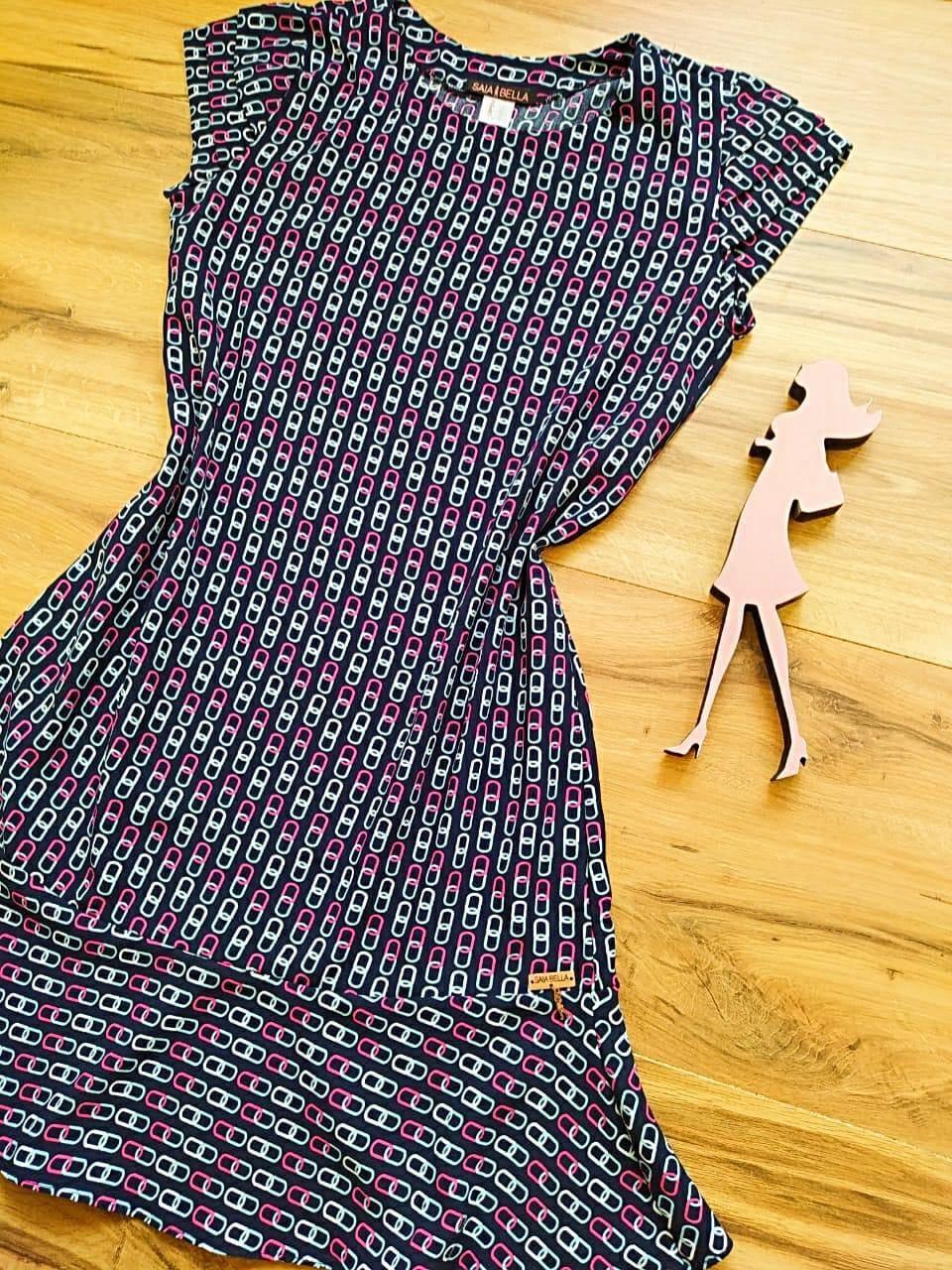 Vestido Jasmine Saia Bella SB4480 - G