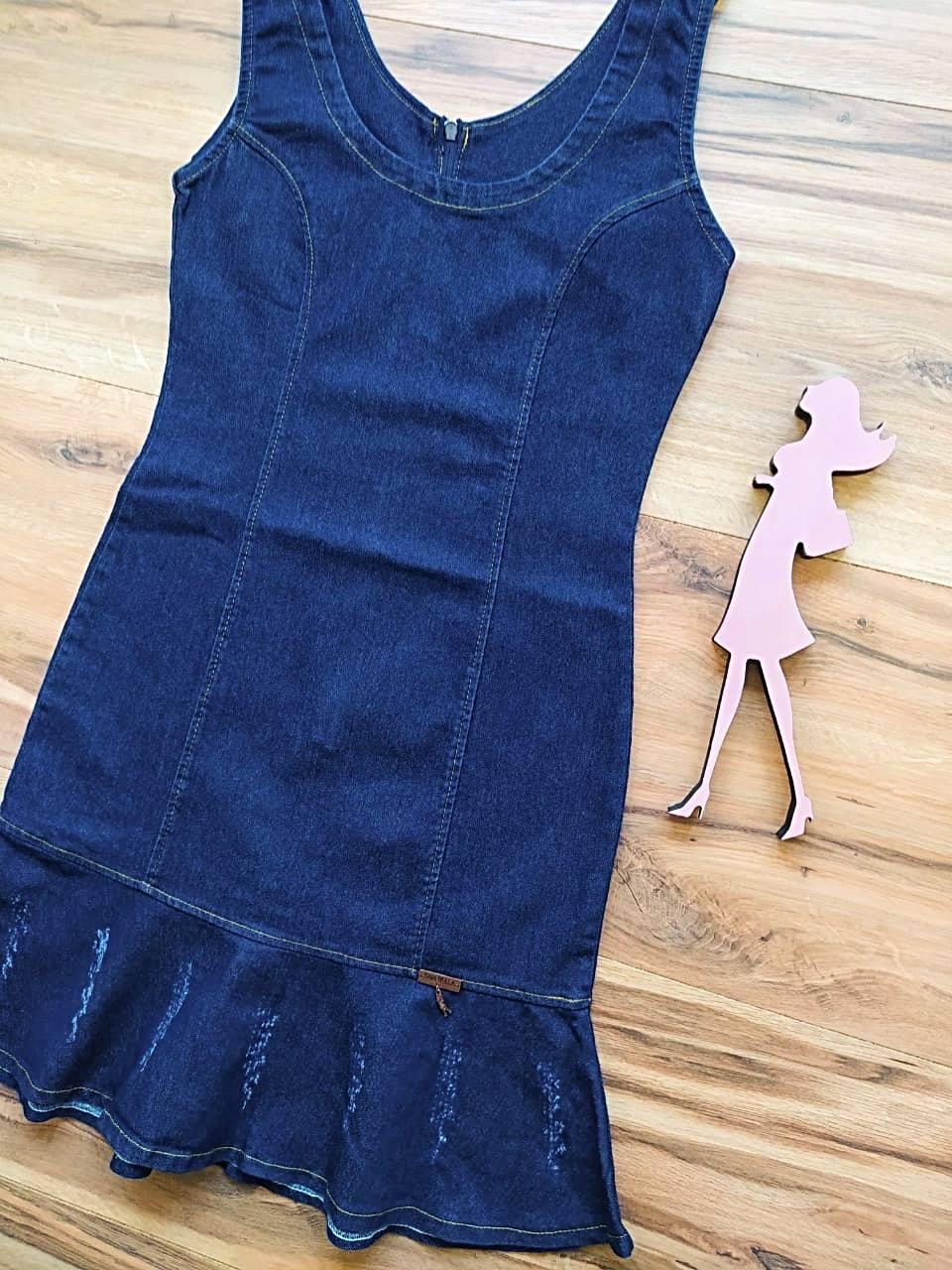 Vestido Jeans Baltimore Saia Bella SB5702