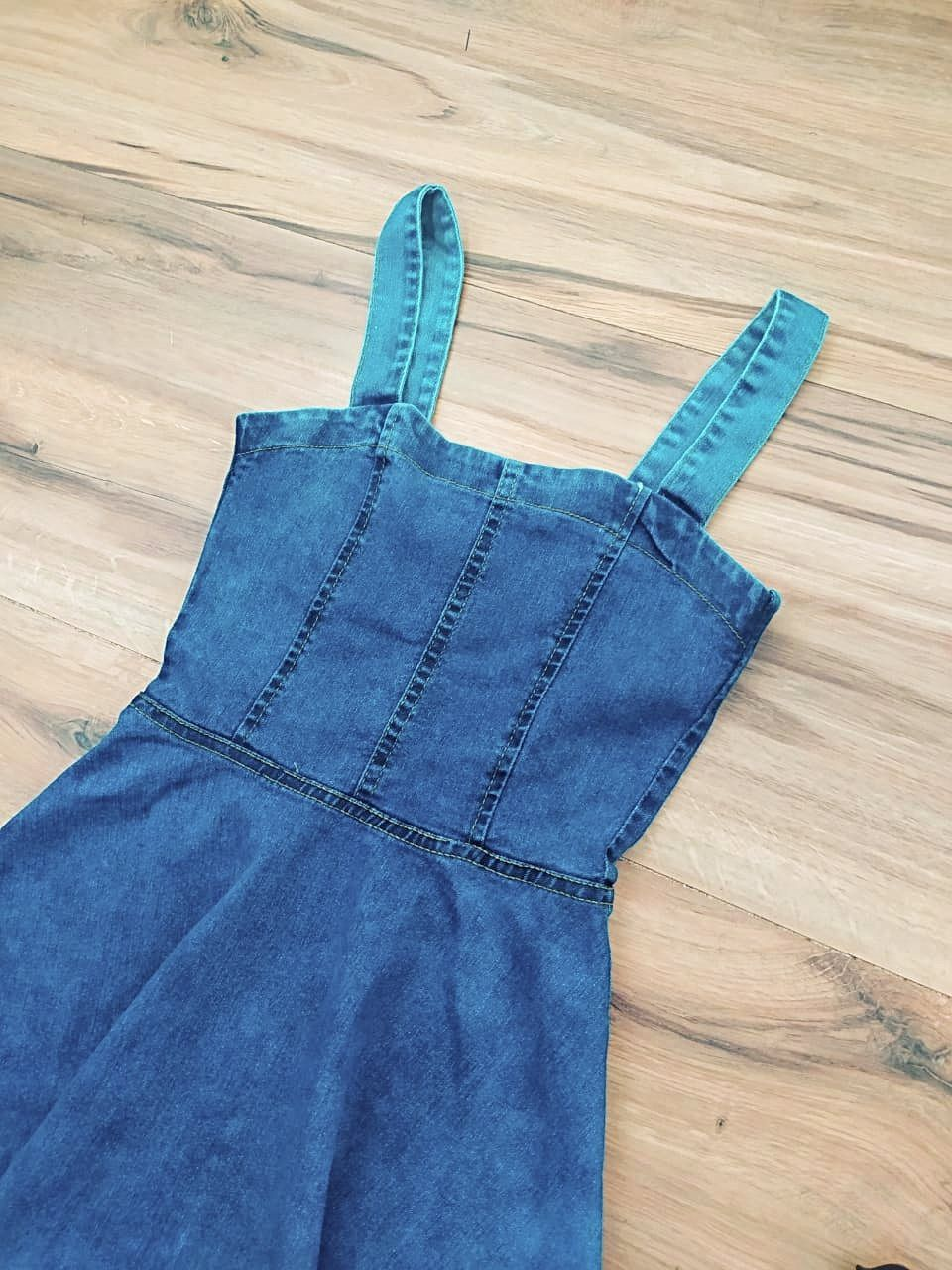 Vestido Jeans Brooklyn Saia Bella SB5604