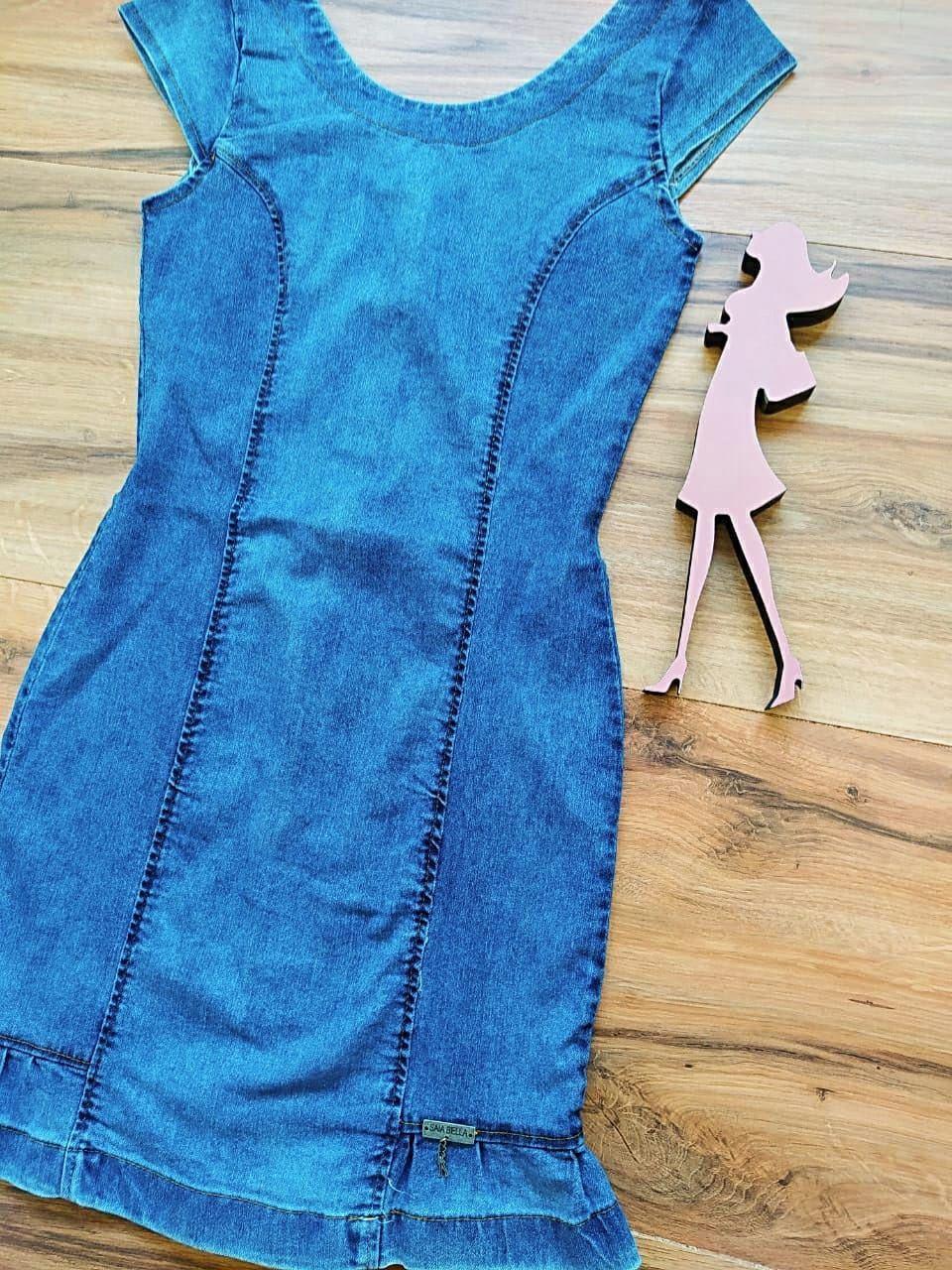 Vestido Jeans Juh Saia Bella SB55980