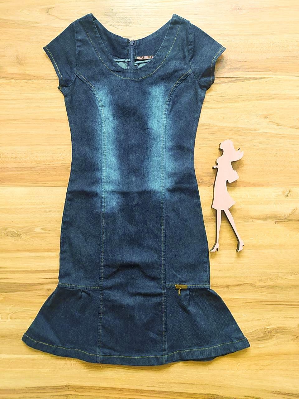 Vestido  Jeans Kintana Saia Bella SB592780