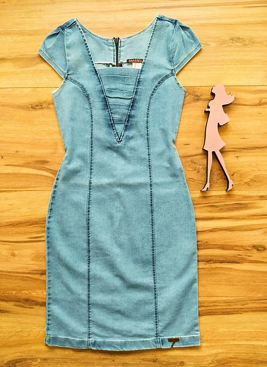 Vestido Jeans Rainha Saia Bella SB75102