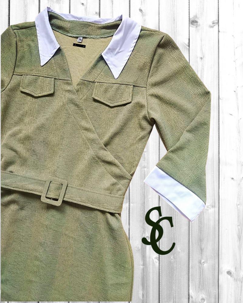 Vestido Jennyfer Lopes By Simmone Carvalho - SC3311_verde