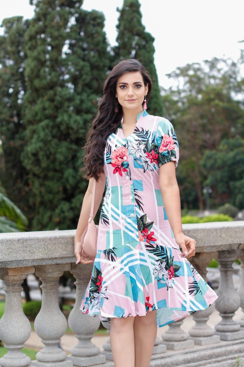 Vestido Joana Azul SBL1809