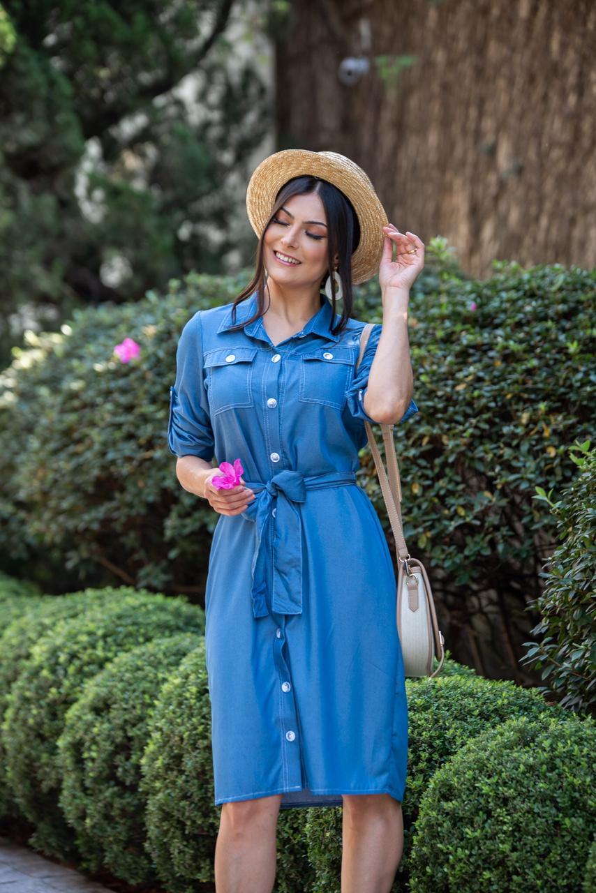 Vestido Julia Azul claro SBL1765A