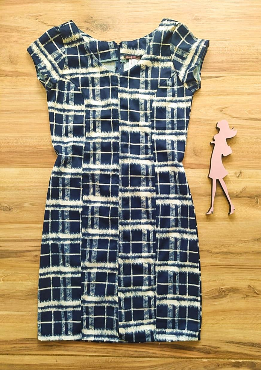Vestido Kipay modelo Tubinho Saia Bella SB592784-X