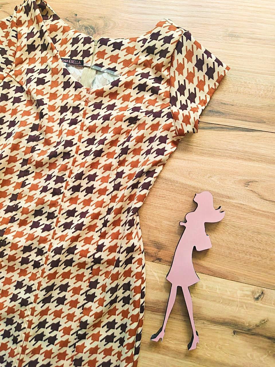 Vestido Kipay modelo Tubinho Saia Bella SB592784-Y