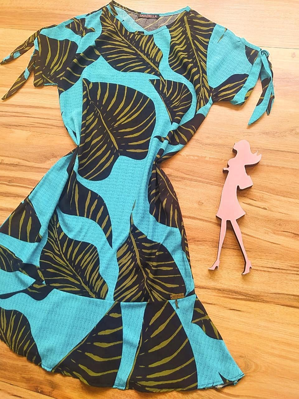Vestido Lavínia Saia Bella SB301103 - A
