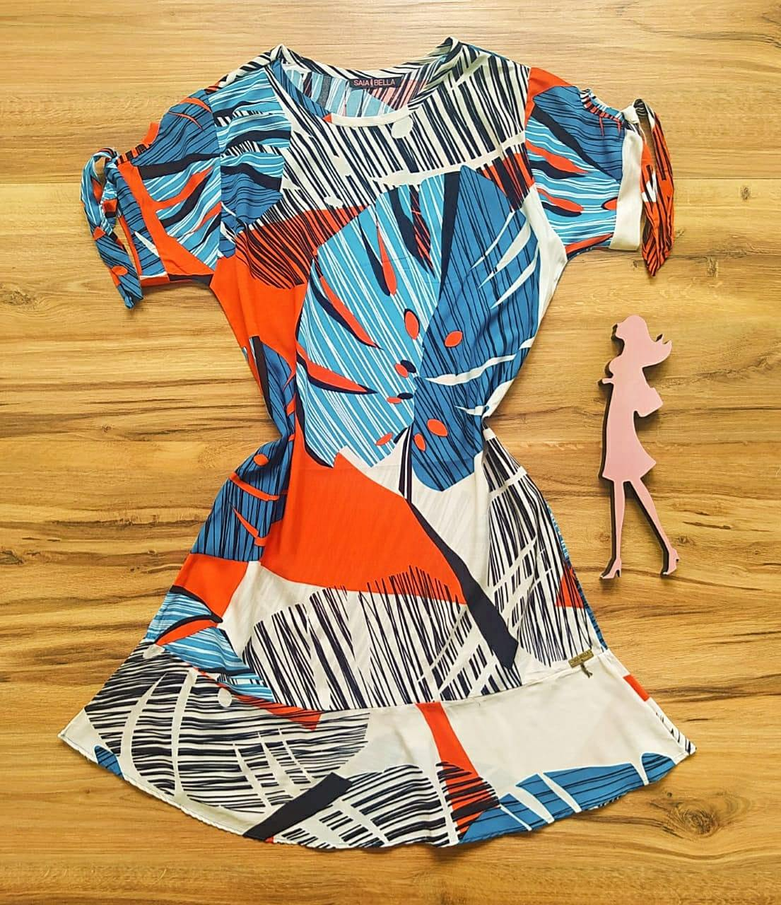 Vestido Lavínia Saia Bella SB301103 - B