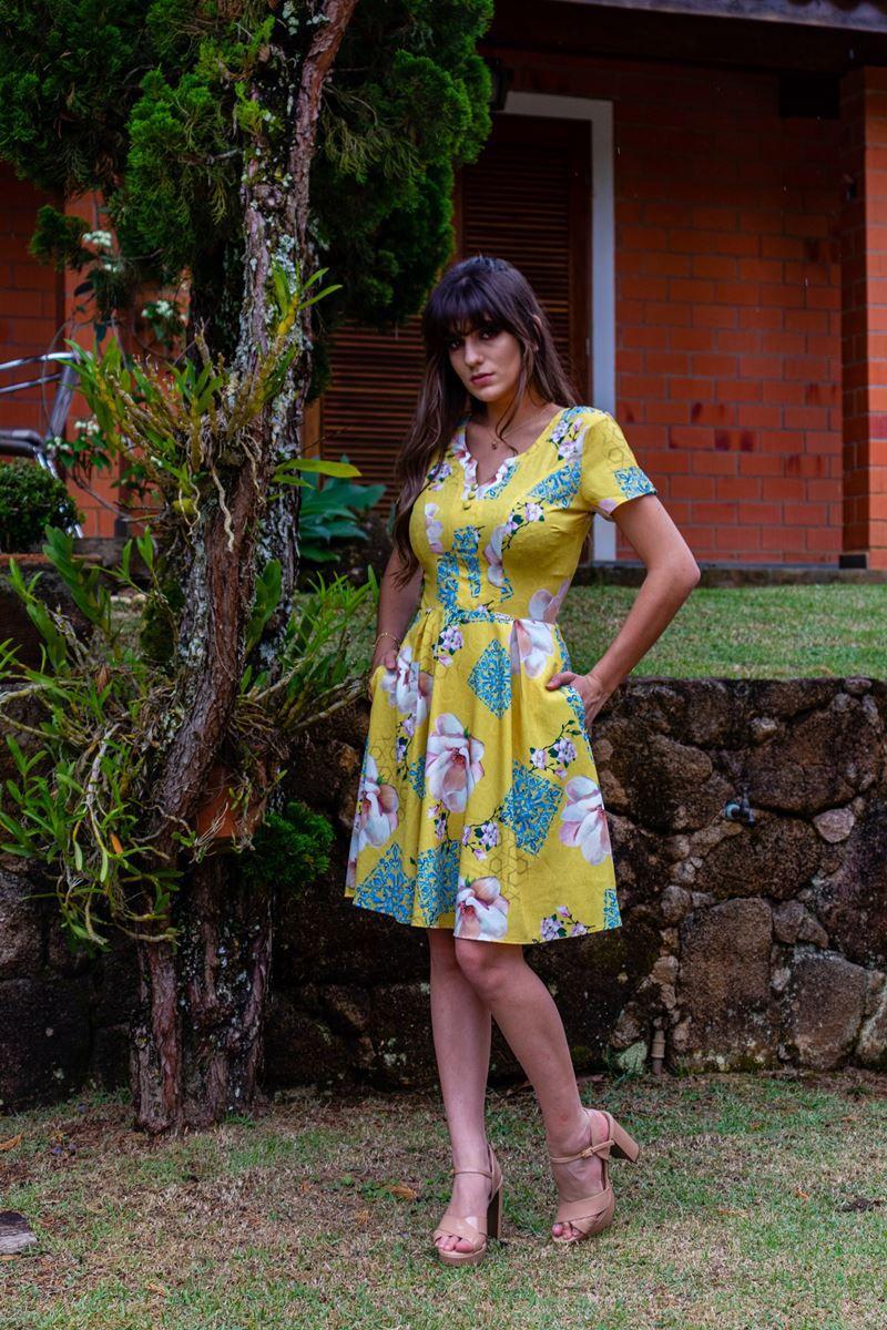 Vestido Margaret By Simmone Carvalho - SC705