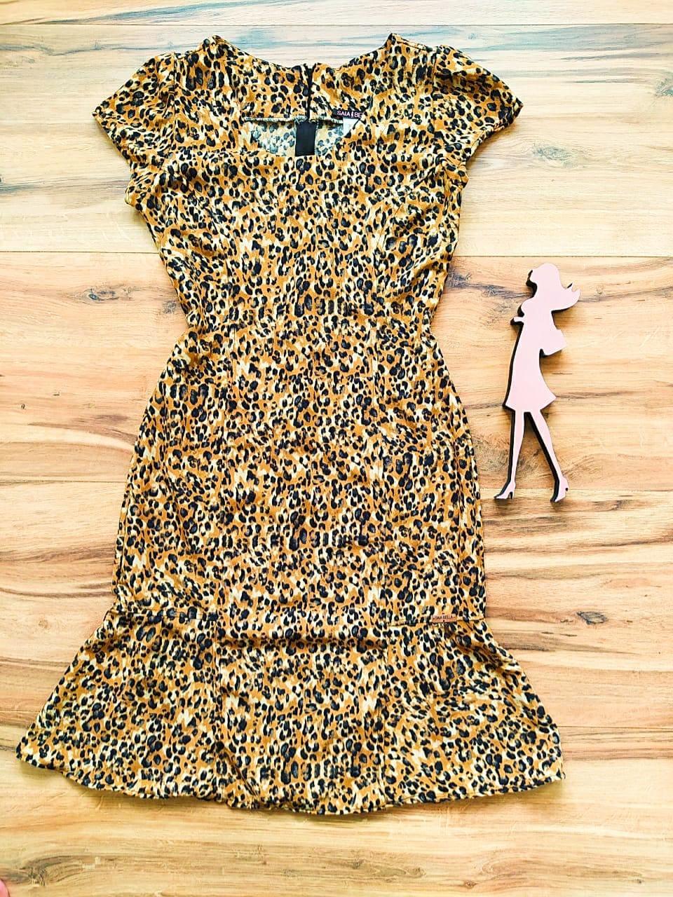 Vestido  Margarida Saia Bella SB75122 - A
