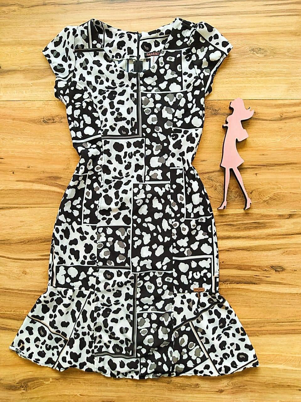 Vestido  Margarida Saia Bella SB75122 - B