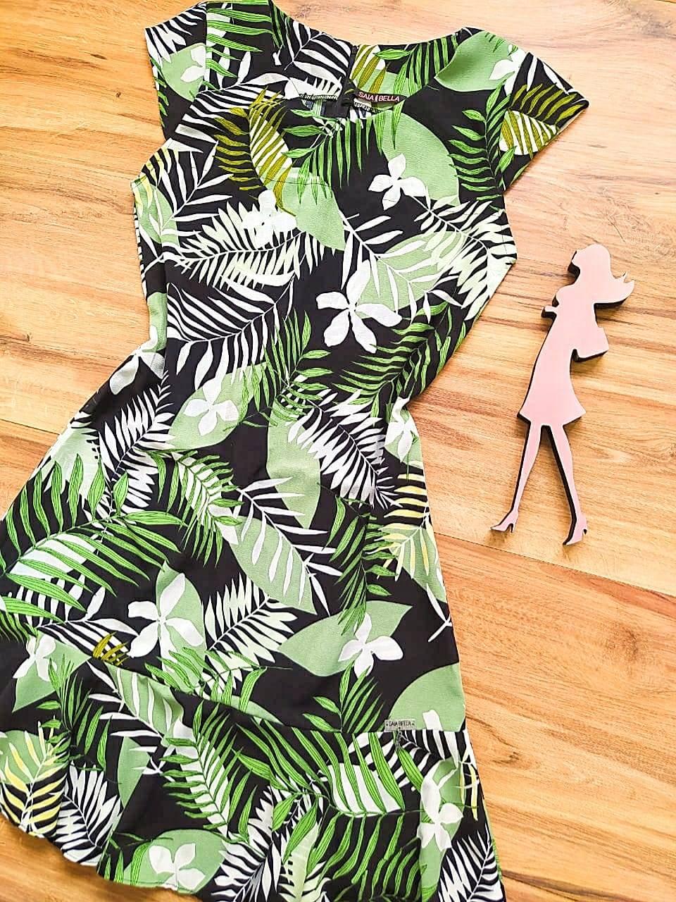 Vestido  Margarida Saia Bella SB75122 - X