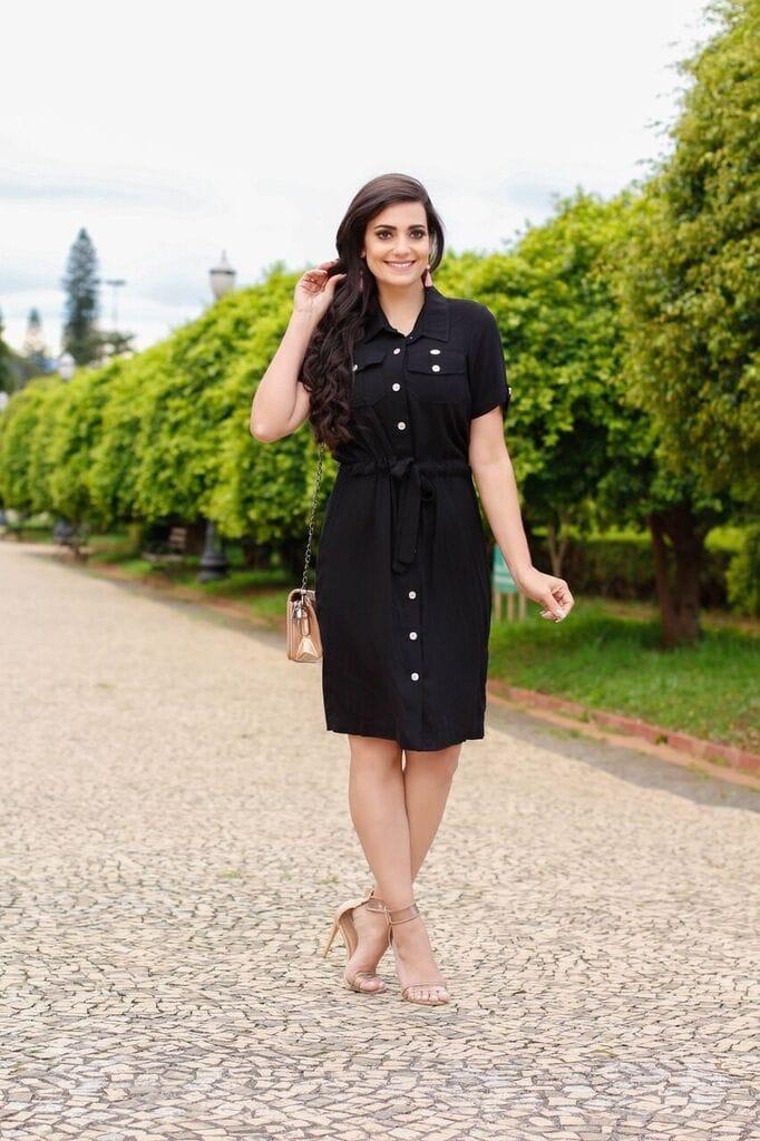 Vestido Mariana Preto SBL1811