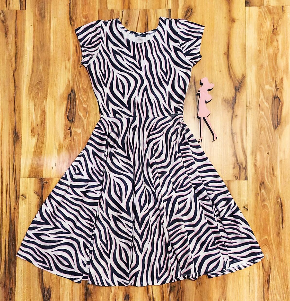 Vestido Midi Brenda Saia Bella cod SB841