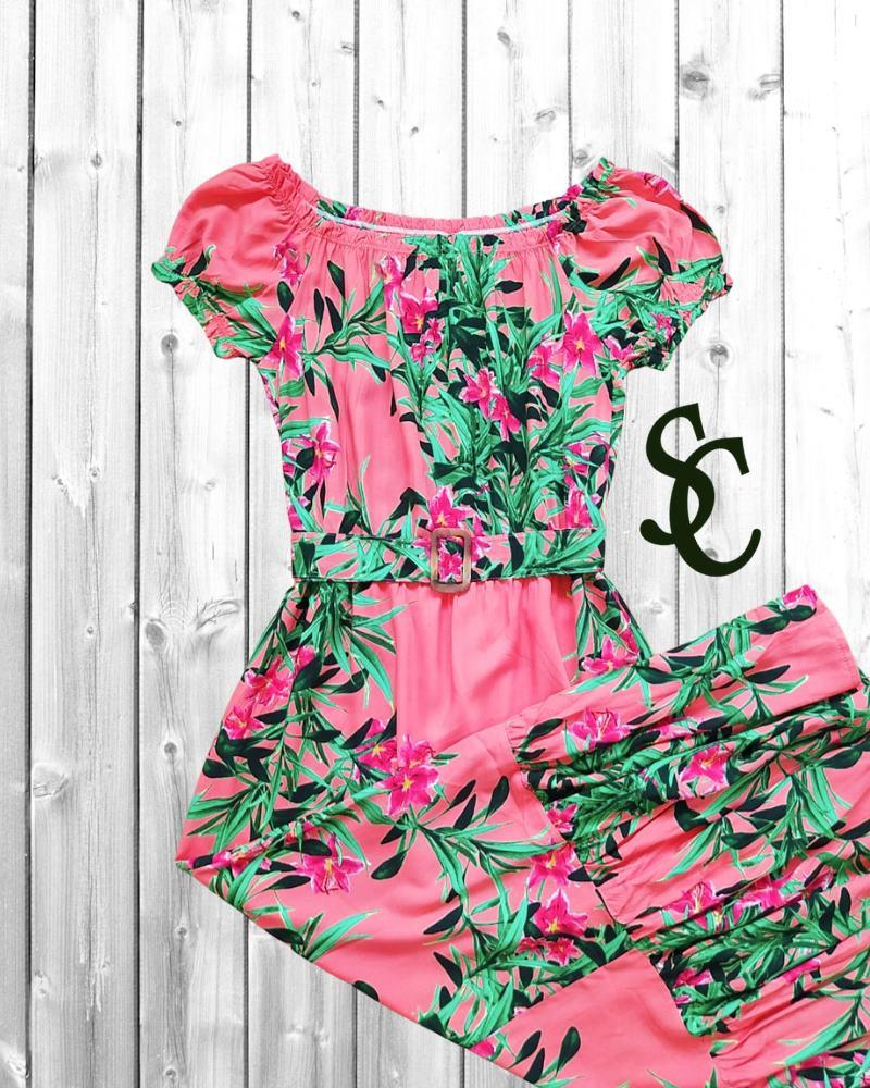 Vestido Nicole Kidman By Simmone Carvalho - SC3316_rosê
