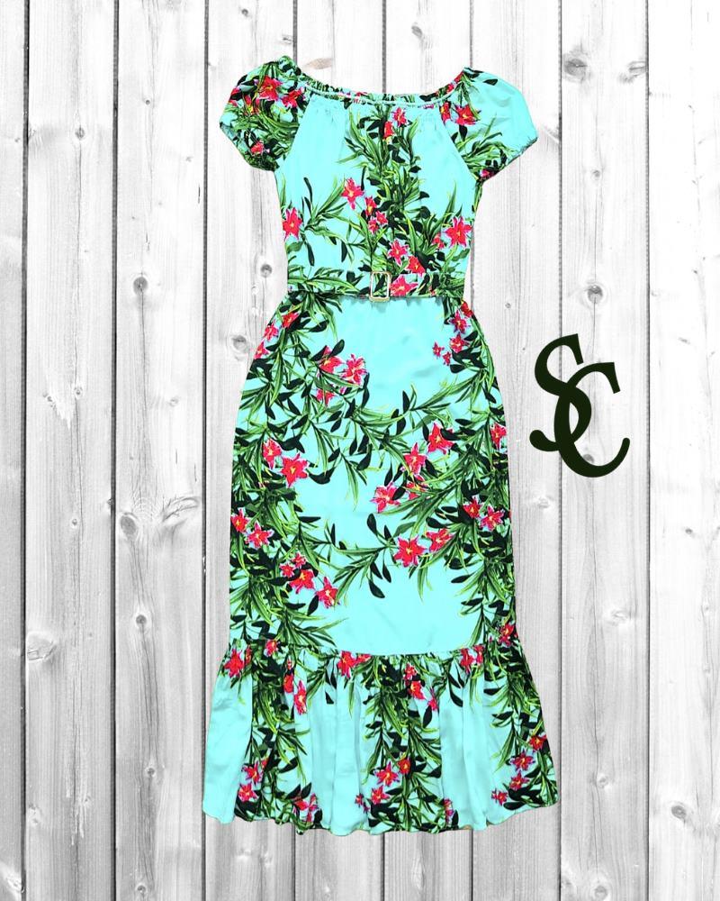 Vestido Nicole Kidman By Simmone Carvalho - SC3316_verde