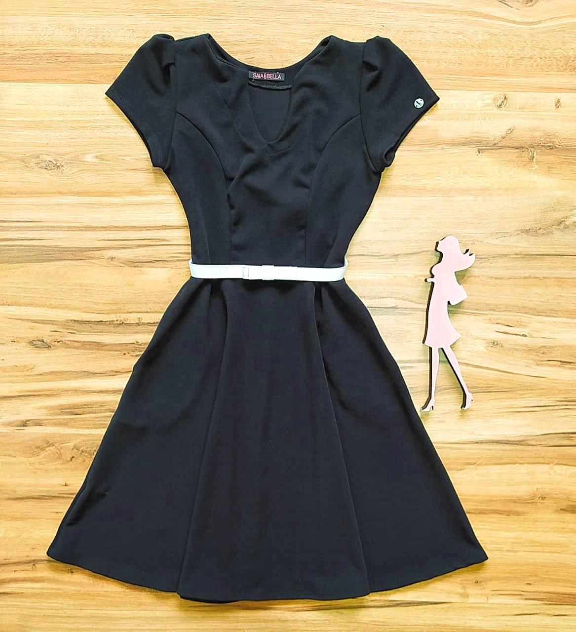 Vestido Poliana Godê Saia Bella SB504110