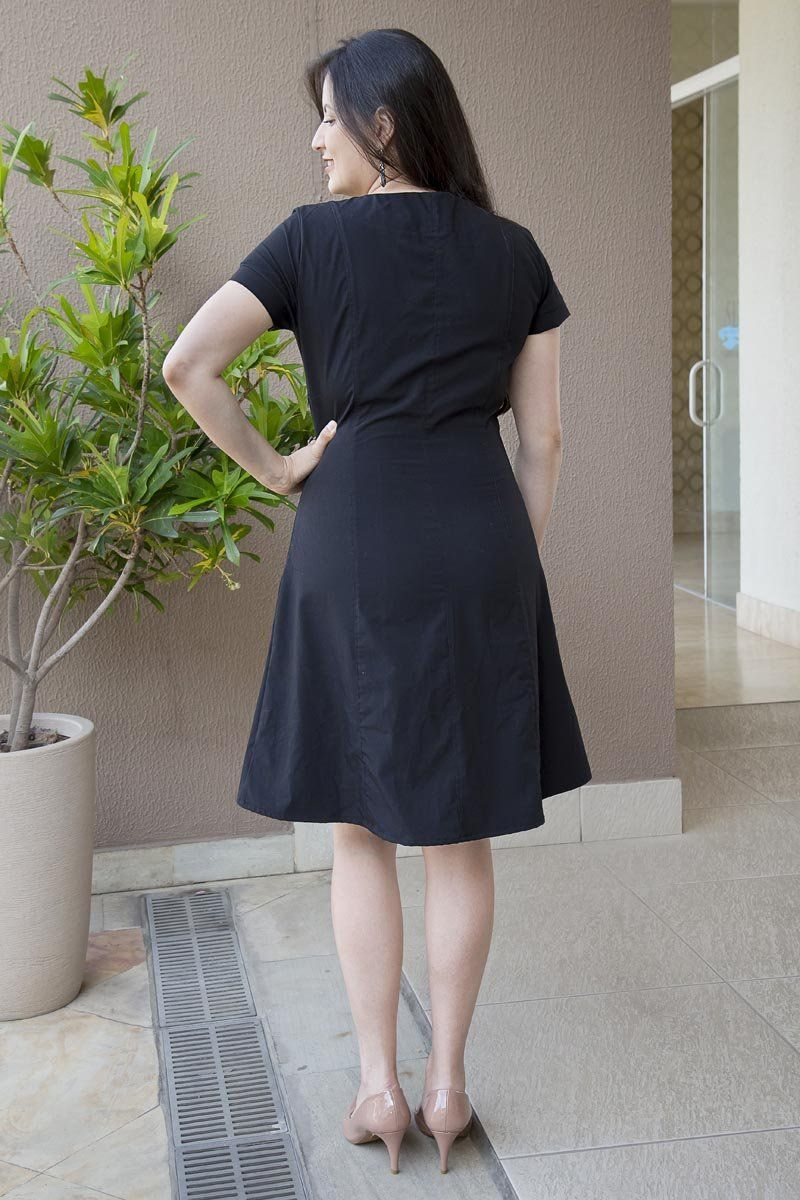 Vestido Sandra Saia Bella - SB173